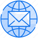 email, global, letter, mail, message