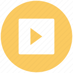 media, media button, media play, media player, multimedia, play sign, video icon