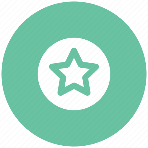 favorite, five pointed star, like, shape, star icon