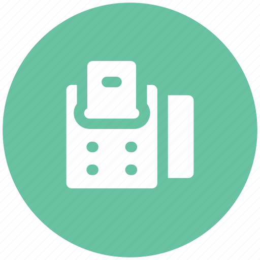 adding machine, banking, buying, finance, paying, receipt machine, shopping icon