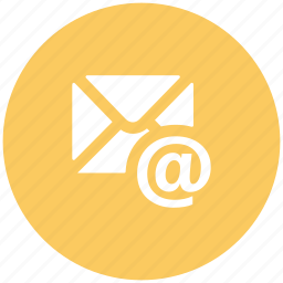 arobba sign, correspondence, email, envelope, inbox, mailbox, subscribe icon
