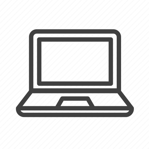 Laptop, computer, technology, screen, communication, internet icon - Download on Iconfinder