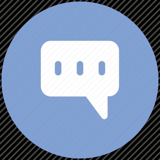 chat, chitchat, communication, converse, dialogue, talk, tittle-tattle icon