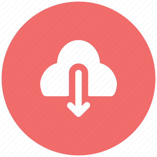 cloud, cloud computing concept, download, downloading icon