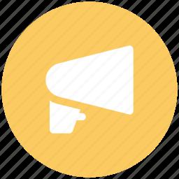advertising, alert, announcement, audio, megaphone, music, sound icon