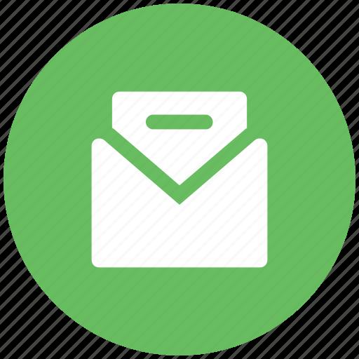email, envelope, inbox, letter, letter envelope, mail, sent email icon