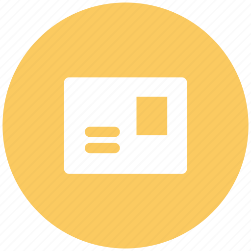 employee card, id, id card, identification, identity card, volunteer card icon