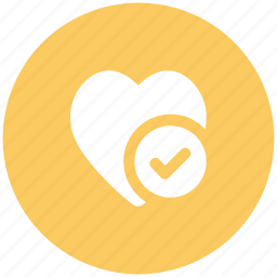 accepted, heart, like, like accepted, love, love accepted, valentine icon