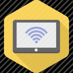 computer, device, internet, laptop, network, wifi, wireless icon