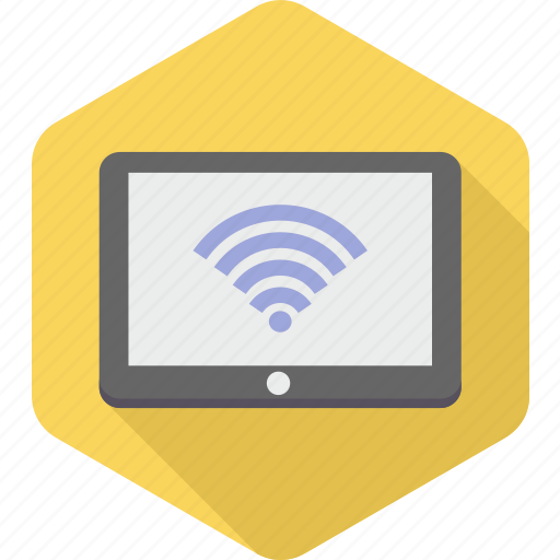 computer, device, internet, laptop, network, wifi, wireless icon
