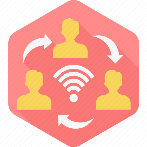 internet, internet sharing, network sharing, signal, usage, users, wifi icon