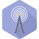 antenna, communication, radio, signal, television, tower icon