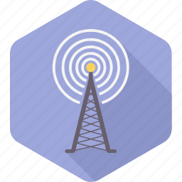 antenna, communication, radio, signal, television, tower icon