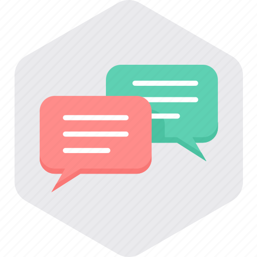 bubble, chat, chatting, communication, message, talk, text icon