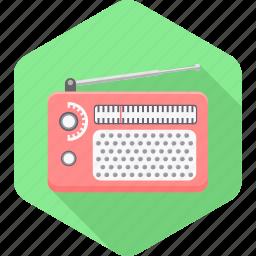 antenna, device, network, radio, signal, transmitter, wireless icon