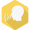 loud, man, sound, speak, speech, voice, volume icon
