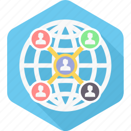 community, connection, group, life, media, network, social icon