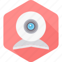 camera, record, recording, video, video recording, web, webcam icon