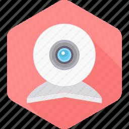 camera, record, recording, video, video recording, web, webcam icon