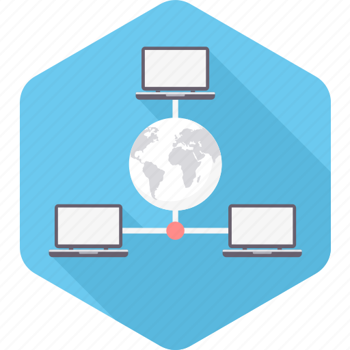 computer, connection, internet, network, share, sharing, system icon