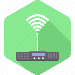 connection, internet, network, router, server, signals, wifi icon