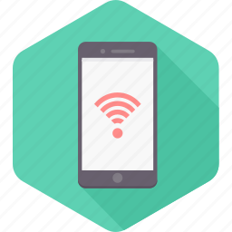 android, internet, mobile, network, signal, smartphone, wifi icon