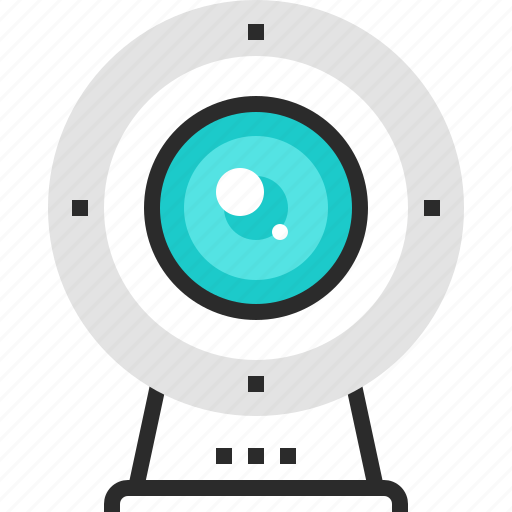 Camera, communication, digital, stream, video, web, webcam icon - Download on Iconfinder