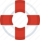 drawning, guardar, help, lifebuoy, safeguard, save, sea, security icon