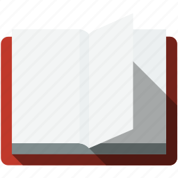 book, communication, education, empty, opened, reading, template icon