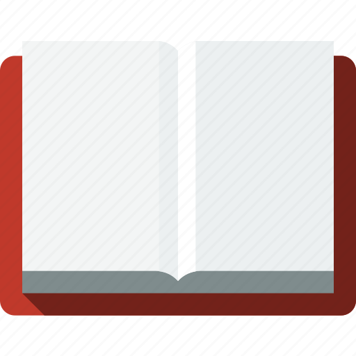 book, communication, empty, information, library, opened, reading, template icon