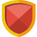 cartoon, diamond, safe, safety, secure, security, shield icon