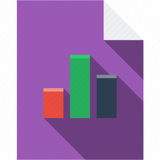 chart, communication, diagram, document, file, multimedia, paper, statistics icon
