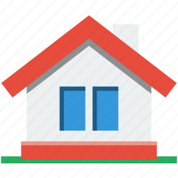 cute, home, house, place, residential, roof, small, window icon