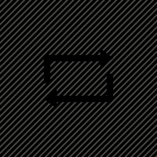 arrow, swap, switch icon