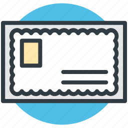letter, letter envelope, mail, post, post letter icon