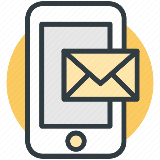 email, message, mobile, mobile chatting, mobile massage icon