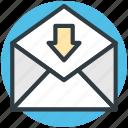 email, inbox, letter envelope, mail, sent email