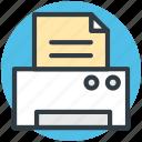 fax, inkjet printers, laser printers, printer, printing machine