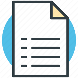 checklist, document, list, paper, sheet, text sheet icon