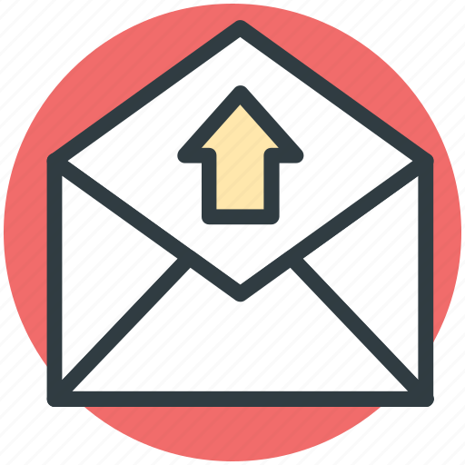 email, letter envelope, mail, outbox, send email icon