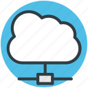 network sharing, cloud computing, network hosting, cloud network, server cloud icon