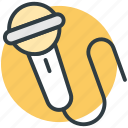 sound, mic, audio, music, microphone icon