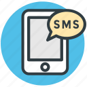 mobile, message, mobile chatting, email, mobile massage icon