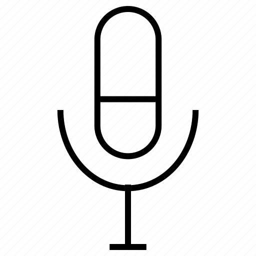 mic, microphone, mike, rec, record, recorder icon