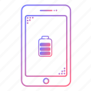 battery, cellphone, charging, communication, devices, phone, technology icon