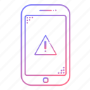 cellphone, communication, devices, error, phone, technology, warning icon