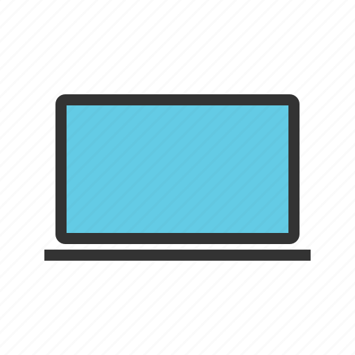 computer, equipment, hardware, laptop, screen, software, system icon