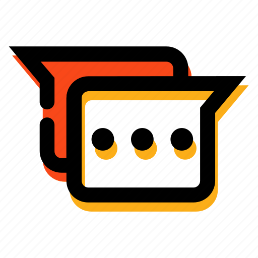Chat, chatting, communication, massage, talking icon - Download on Iconfinder