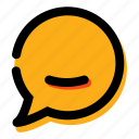 chat, comment, communication, massage, talking icon