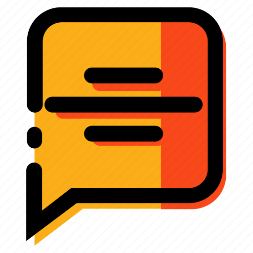 chat, comment, communication, massage, talking icon
